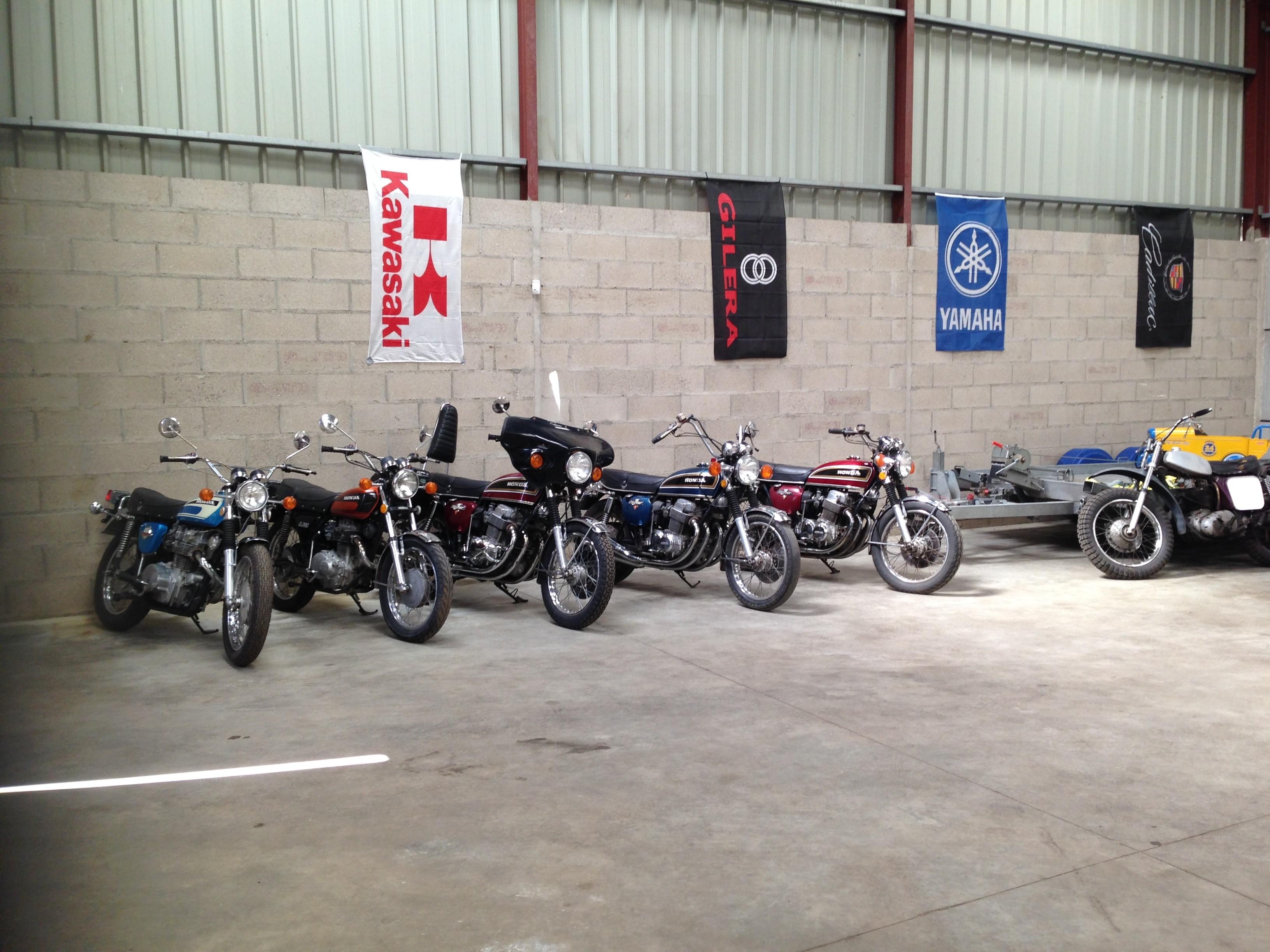 Motos anciennes de collection